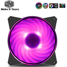цена на Cooler Master MF120 12cm RGB Computer Case PC Cooling Slient Fan For CPU Cooler Radiator Water Cooling 120mm PWM Quiet PC Fan