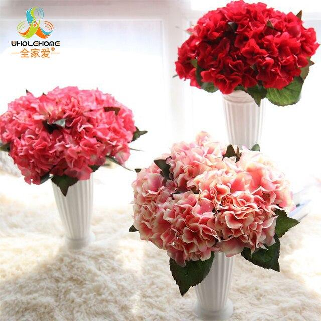 Kunstbloemen Voor Diy Zijde Decoratieve Bloemen Nep Bloem Hortensia