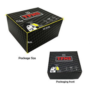 Image 4 - 車 tpms タイヤ空気圧監視ラウンドワイヤレスタイヤ空気圧監視警報システム液晶カラーディスプレイ 2 つのインストール方法
