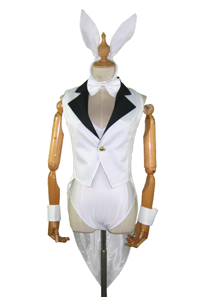 Free Shipping Vocaloid Kagamine Rin Rabbit Girls Cosplay Costume