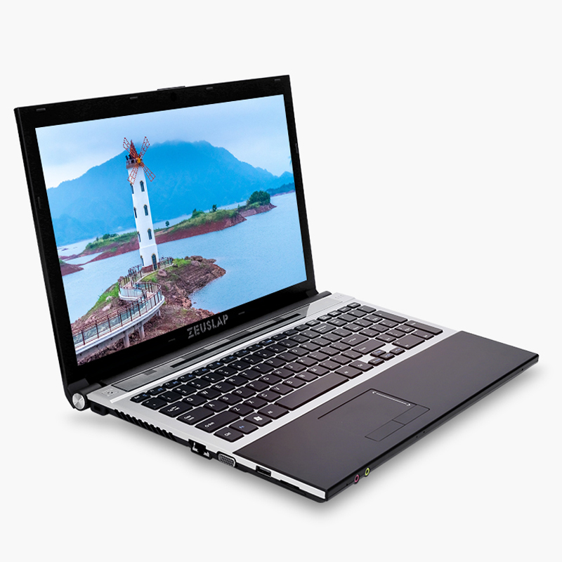 15.6inch Intel Dual Core I7 4GB RAM 128GB SSD 2TB HDD 1920x1080P WIFI Bluetooth DVD Rom Windows 10 Notebook PC Computer Laptop