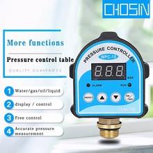 مضخة هواء أوتوماتيكية زيت ماء مفتاح ضغط مكبس شاشة ديجيتال تحكم ضغط إلكتروني لمضخة مياه