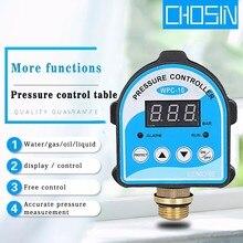 Otomatik hava pompası su yağ kompresör basınç anahtarı dijital ekran elektronik basınç kontrolörü su pompası için