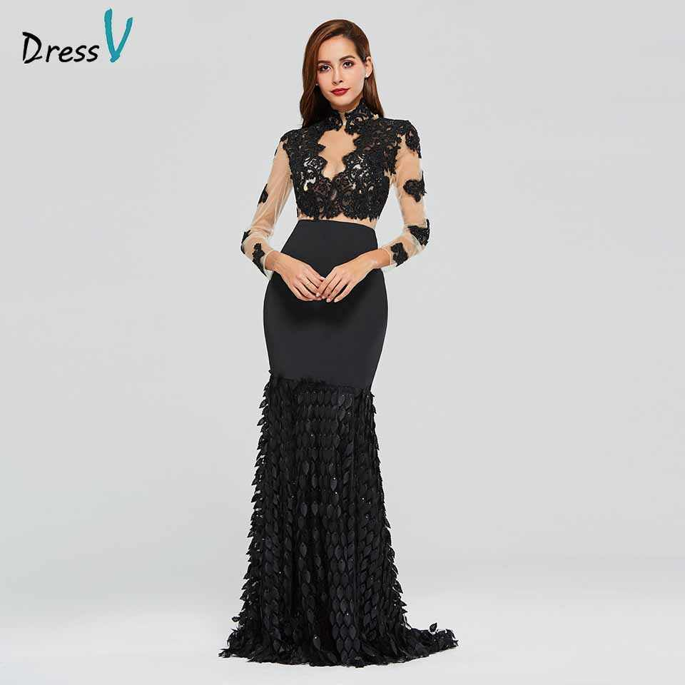 757fbb18b1d08 Detail Feedback Questions about Tanpell high neck evening dress ...