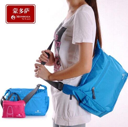 Fordable grife mulheres mensageiro sacos de moda das mulheres sacos de ombro saco corpo cruz saco de viagem leve para os homens 2017 MB00001