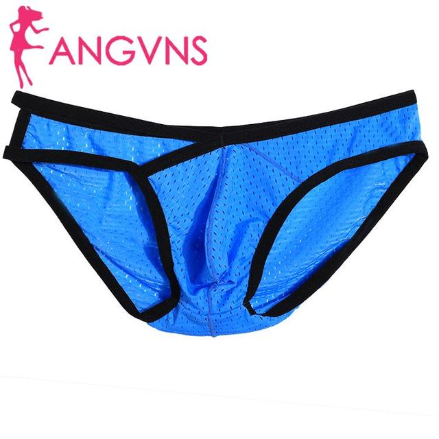None Avidlove Brief Out Breathable Underwear Hollow Triangle Men Brief Underpants