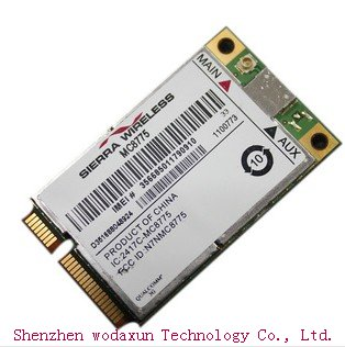 sierra MC8775 3G WWAN MINI CARTE SANS FIL PCI-E BORD HSPDA Version générique 7.2m 1800 1900 WCDMA HSDPA carte réseau