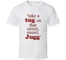 3a4f8183a764a 2017 Homens Famosos da Marca de Verão Dar UM Puxão Em Que Doce Doce Jugg  Juggernog Perk-UM-Cola camiseta Hipster partes superior.