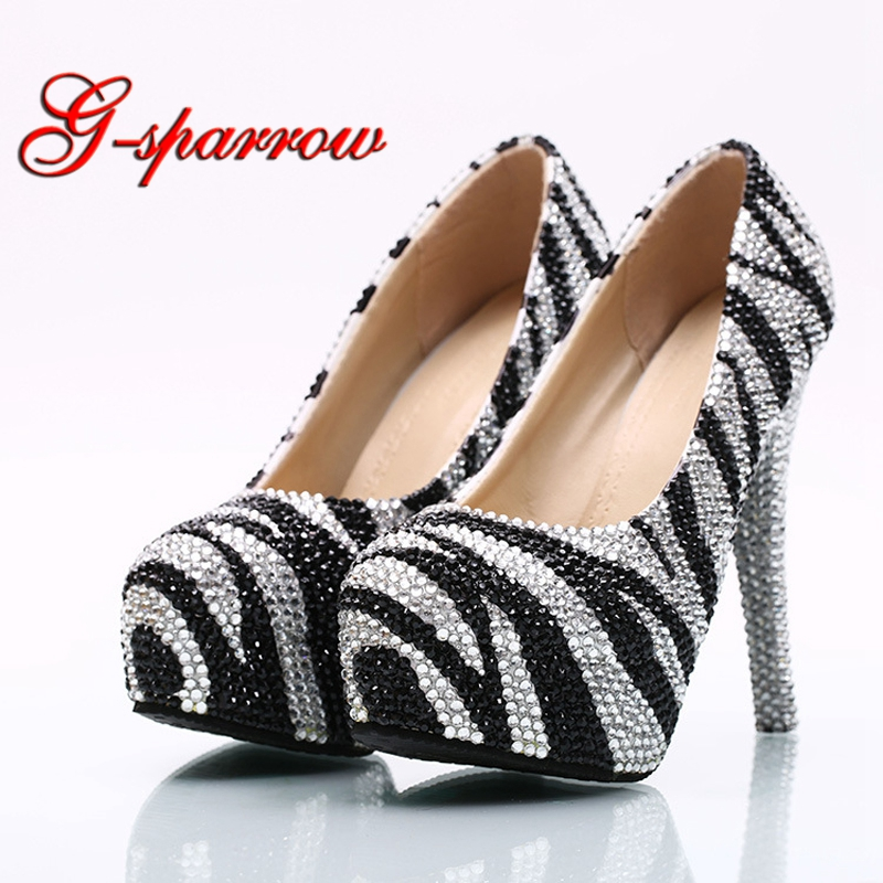 Rhinestone Prom Heels Fashion Dresses