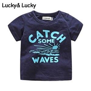 Image 5 - Bebes 신생아 옷 목화 편지 인쇄 된 t 셔츠와 demin overalls 아기 소년 의류 여름 어린이 의류