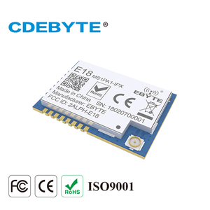 Image 4 - 10Pcs CC2530 Zigbee Module 100Mw 2.4Ghz Pa Soc Iot Radio Transceiver Ebyte E18 MS1PA1 IPX