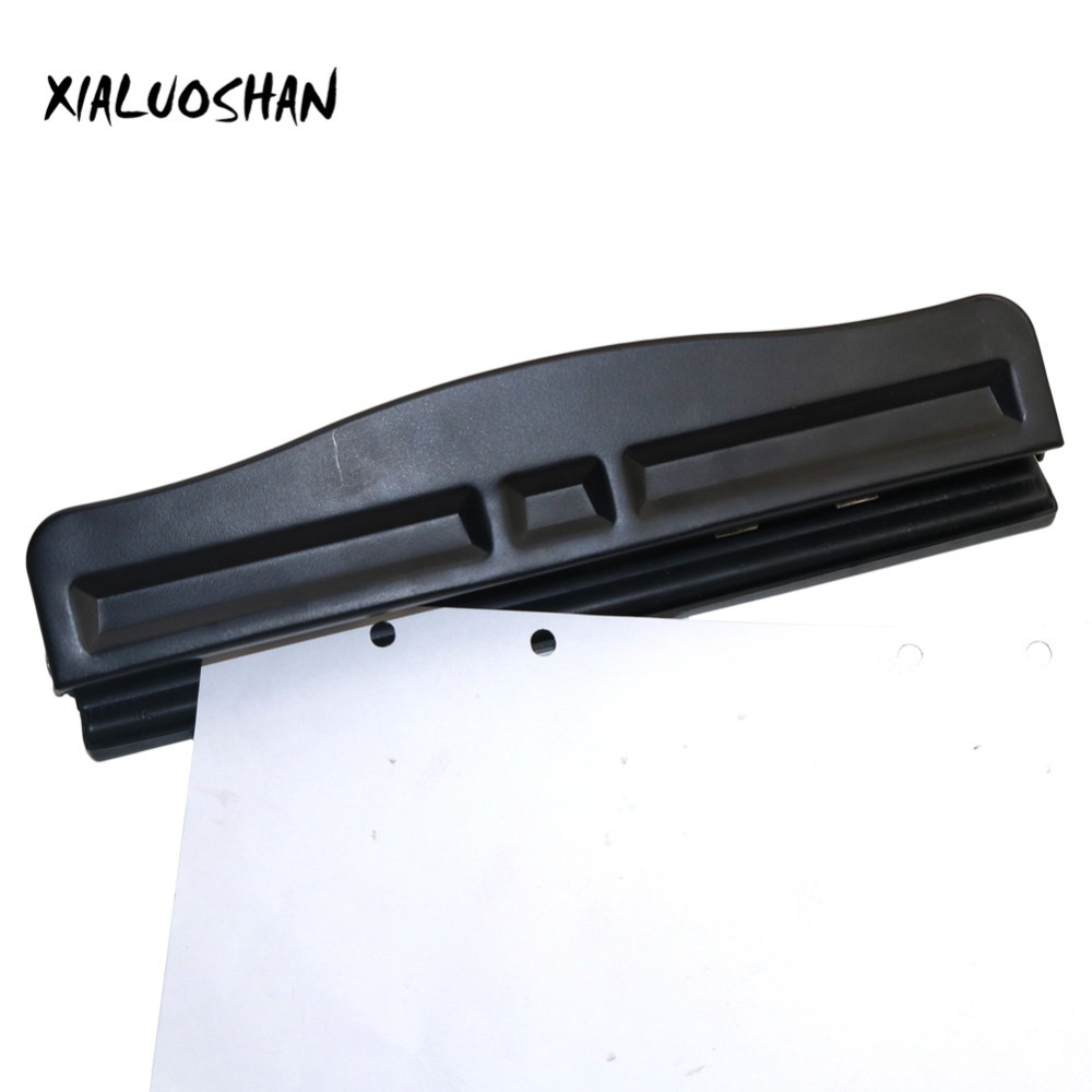 Four Holes Manual Office Puncher Office Loose Leaf A4 Paper Punch Supplies Metal + ABS High Quality Stationery