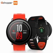 Original Xiaomi Huami Reloj Ritmo AMAZFIT Deportes Reloj Inteligente Inglés Versión Bluetooth 4.0 Monitor Del Ritmo Cardíaco GPS Para Android IOS