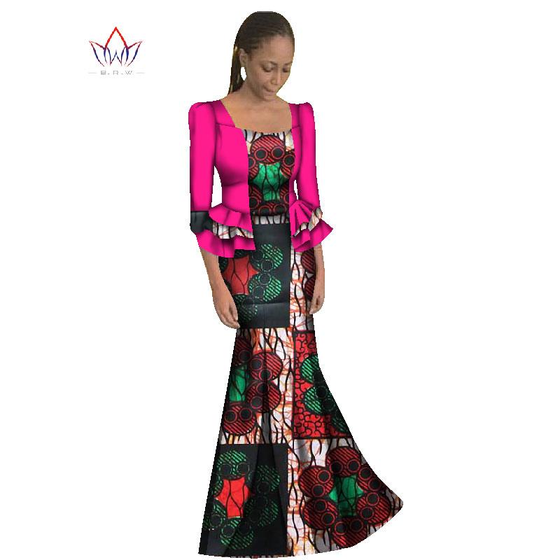 f802d714188d 2019 New African Maix Size Traditional Dress Casual Long Dresses ...