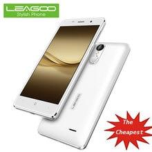 LEA G OO M5 смартфон 5 дюймов 2 ГБ Оперативная память 16 ГБ Встроенная память с 8MP Камера Quad Core fin g erprint Android 6.0 3 г противоударные сотовые телефоны