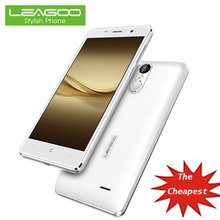 Leagoo Smartphone 5 Inch 2GB RAM 16GB ROM With 8MP Camera Quad Core Fingerprint Android 6.0 3G Shockproof Mobile Phone