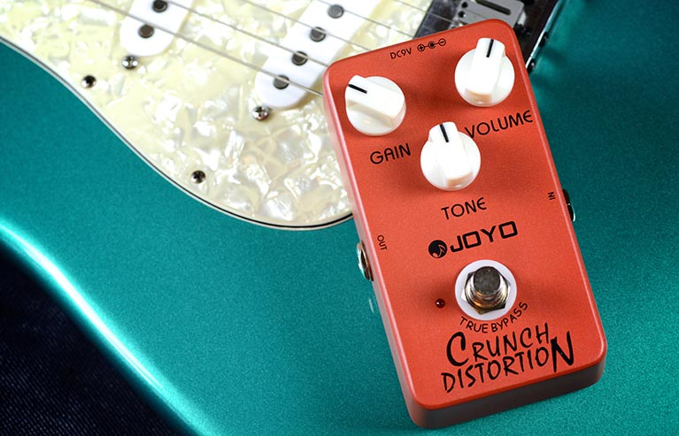 Joyo JF-03 Crunch Distortion Guitar Effect Pedal with Free Pedal Case jf