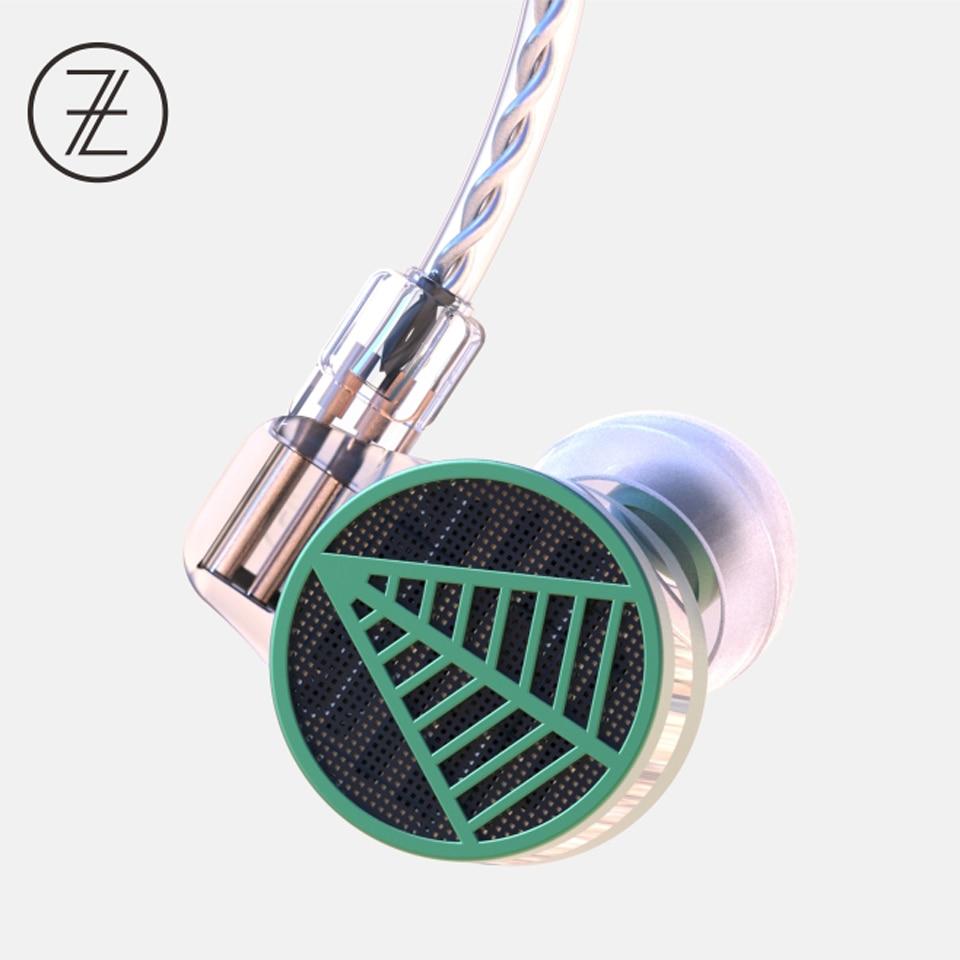 2018 TFZ TEQUILA 1 HiFi écouteurs mode Audiophile 2 broches 0.78mm Détachable Écouteurs Intra-auriculaires IEMS