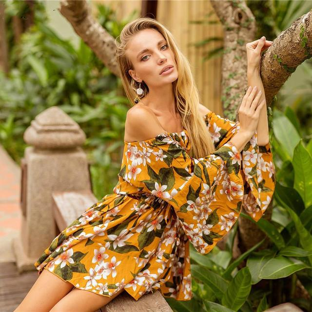 6cb0154e4e Best Offers Women Swimsuit Swimwear Flower Cover Up Sexy Tube Top Pareo  Beach Wear Wrap Cover