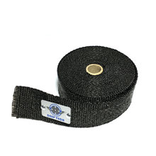 15m/50ft Exhaust Muffler Pipe Heat Resistant Black Exhaust Wrap Auto Moto Exhaust Manifold Heat Shield Wrap