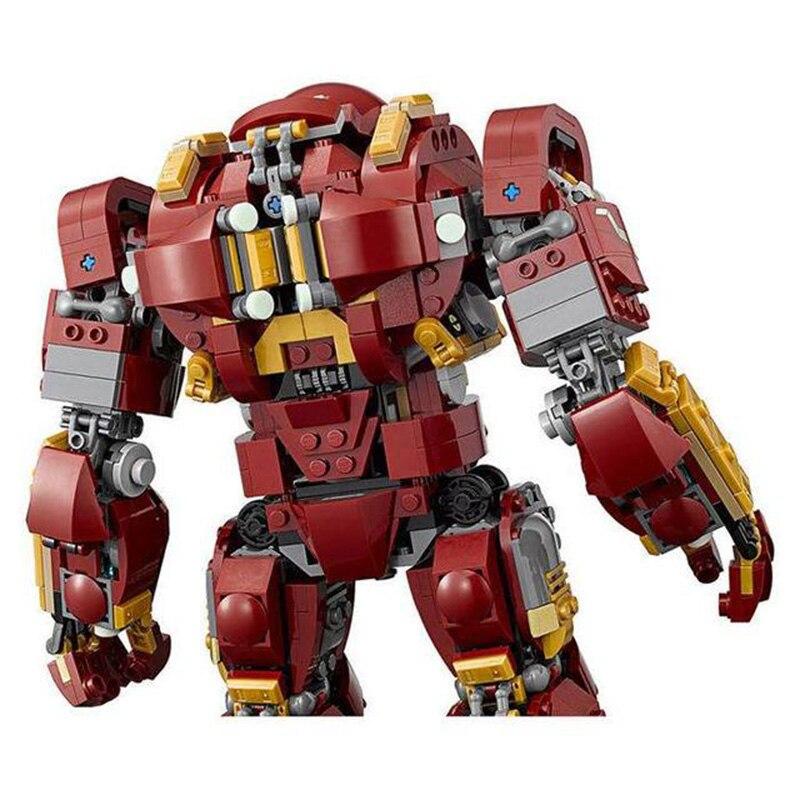 Ironman Hulkbuster Compatible avec legoing Iron Man 76105 modèles de blocs de construction Marvel Avengers Super héros jouets pour enfants-in Blocs from Jeux et loisirs    3