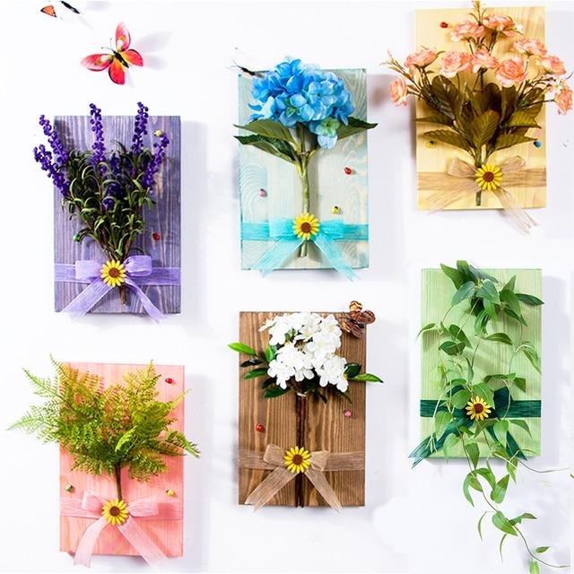 Aliexpress Buy Wall Hanging Artificial Flowers