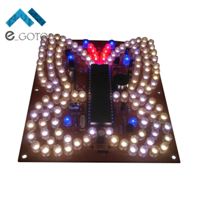 Music led light butterfly shape diy kit remote control lighting kits music led light butterfly shape diy kit remote control lighting kits led lamp parts diy suit aloadofball Image collections