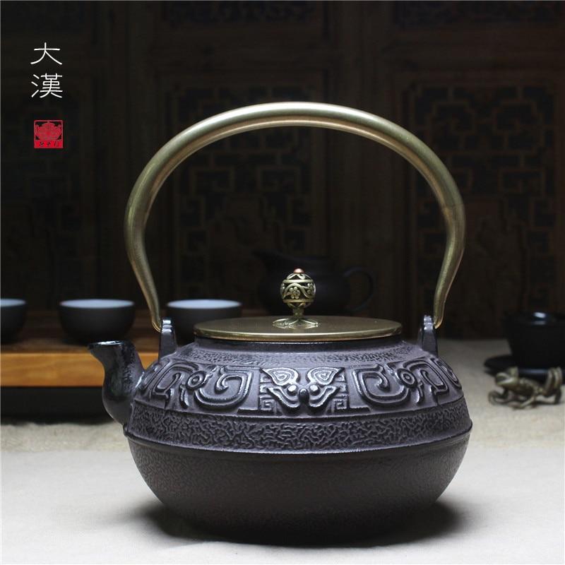 Чугунный чайник в южной Японии чугун горшок античный чайник кунг-фу чайный набор большой молодец горшок 1.4 l