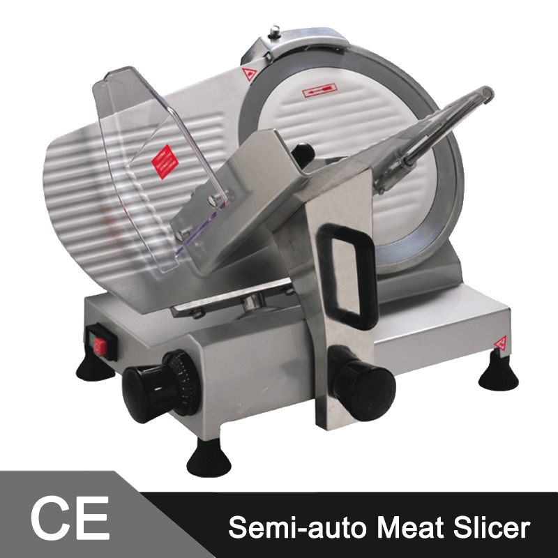 300mm COMMERCIAL INDUSTRIAL BENCH TOP SEMI-AUTOMATIC MEAT SLICER