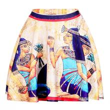 Cleopatra Women Sexy Pleated Skirts Tennis Bowling Bust Shorts Skirts XXL Egypt Pharaoh Female Fitness Sport Apparel A Style