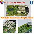 2016 A + + + Качество + obd2 tcs cdp pro 2014R2/2015R3 НОВЫЙ VCI CDP ПЛЮС Один Зеленый Доска + Bluetooth OBD2 Диагностический Инструмент