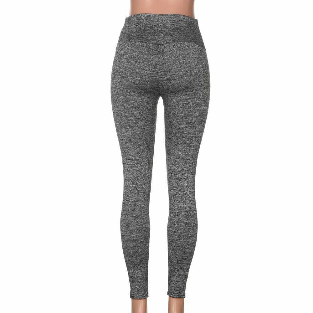 5daae072429 KLV Yoga leggings Fitness Yoga Running Tights Sport Pants Women's Fashion  Workout Leggings Fitness Gym Yoga Athletic #@%