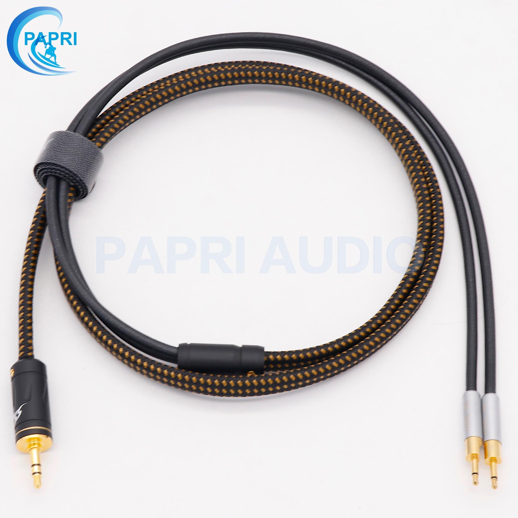 PAPRI MPS X 9 สาย 6N OCC ชุบเงินอัพเกรดสายเปลี่ยน HD700 HD650 HD800 หูฟังหูฟังหูฟังสายสัญญาณเสียง บน AliExpress - 11.11_สิบเอ็ด สิบเอ็ดวันคนโสด 1