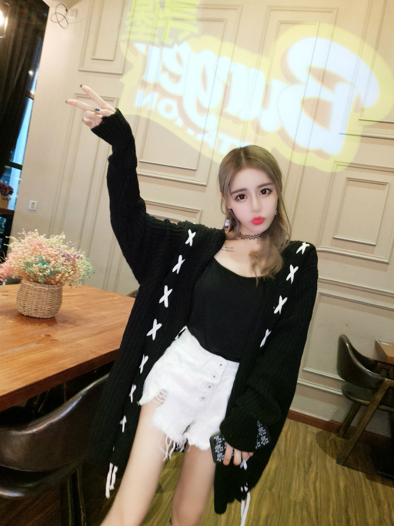 2018 summer ladies crochet tops hollow out knitted sweaters cardigan rebecas mujer women cardigan