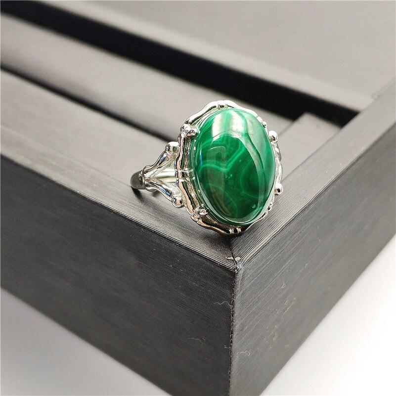 Natural Green Malachite Ring (4)