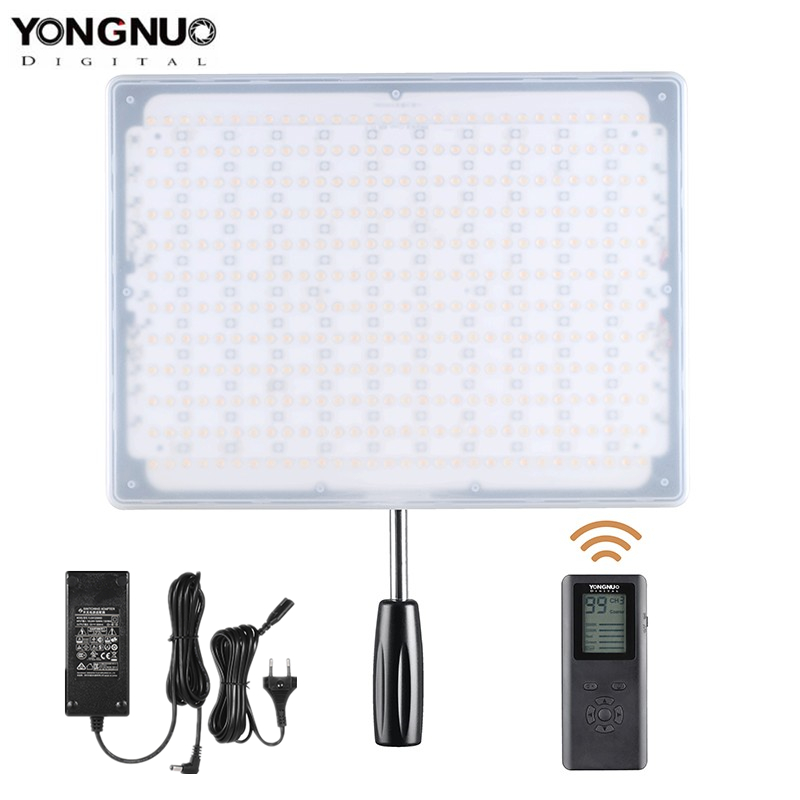 YONGNUO YN600 RGB 5500K ultra thin LED Video Light Photographic Lighting with Remote Control Studio Lighting