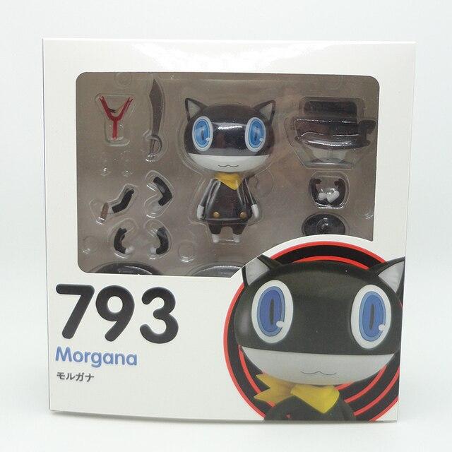 Nendoroid Persona 5 Morgana 793 PVC Action Figure Model Toy Doll Christmas Gift 2