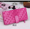 Famous Brand Designer Kavya New Fashion Sheepskin Genuine Leather Wallet Lady Long Wallet Coin Purse Bags Women Gift Carton