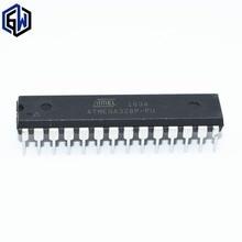 50 unids/lote ATMEGA328P PU CHIP ATMEGA328 Microcontroller MCU AVR 32K 20MHz inmersión FLASH 28 DIP ATMEGA328P U