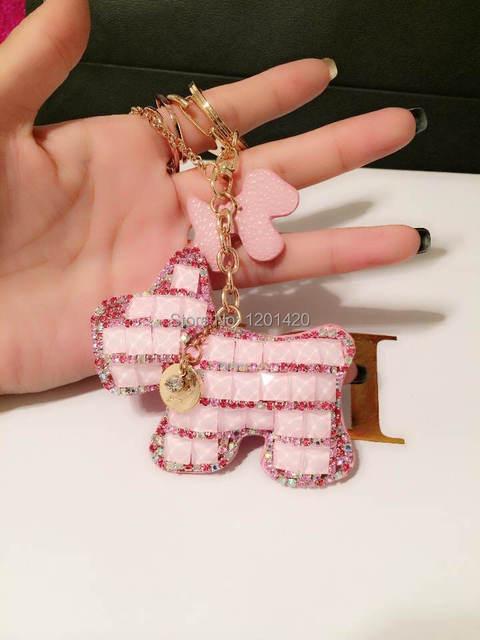 Розовый шику брелки шику женщины сумка подвески, Розовый ручной настройки, Бумажник шарм