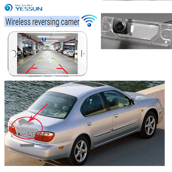 YESSUN new HD night vision waterproof car reversing wireless camera For nissan maxima QX 2000~2006 A33 Vision backup camera