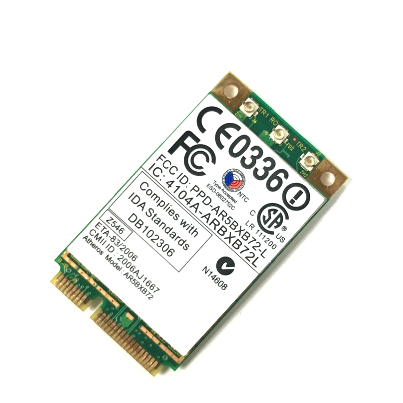 Atheros Ar5418 Ar5008 2.4ghz & 5.0ghz 300mbps Mini Wifi Pci-e Adapter Wireless Wlan Card For Thinkpad X60 X60s X61 R60 R60 T60 Network Cards