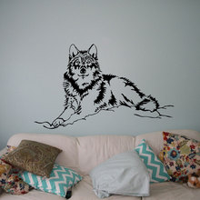Beautiful Wolf Wall Decal Wild Animals Vinyl Sticker Nature Home Interior Decor Art Murals Living Room Bedroom C439