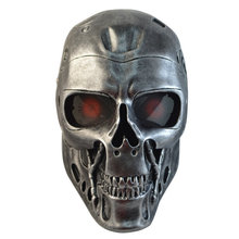 Терминатор Анфас череп маска Airsoft Пейнтбол Маска Маскарад хэллоуин Косплей Movie Prop Реалистичная ужасы маска