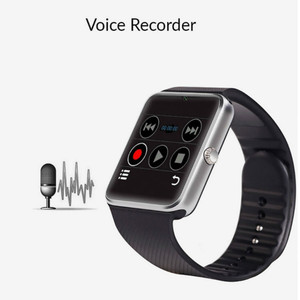 Image 2 - Bluetooth Smart Watch Big screen touch fitness tracker Watch SIM card Call message Reminder Pedometer For Android wear touch