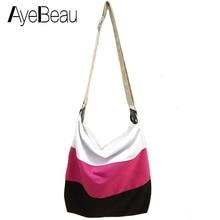 Hand Handbag Canvas Cross Body Crossbody Shoulder Women Messenger Bags Female Brands Sac A Main Femme De Marque Bolsas Femininas цена