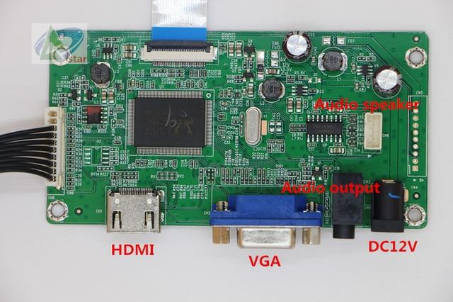 US $20 75 17% OFF|HDMI+VGA+AUDIO Signal Controller Board 10 1