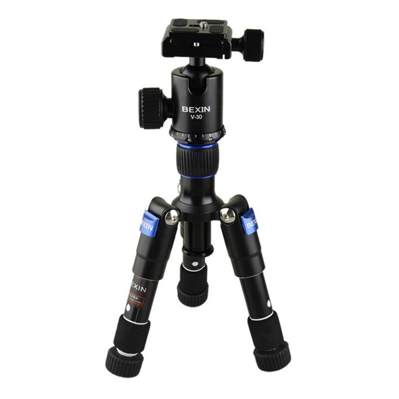 Trépied BEXIN M225S Mini-trépied de bureau ULTRA COMPACT avec tête sphérique pour reflex numériques compacts et caméscopes de bureau