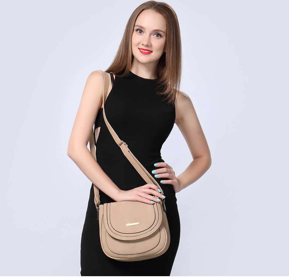 REALER женские сумки на плечо женская сумка-мессенджер женская маленькая сумочка из искусственной кожи Маленькая седельная женская сумка через плечо