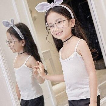 Niños Niñas Niños Verano Modelo Chaleco Camiseta De Algodón Sin